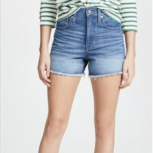 Madewell Perfect Jean Short
